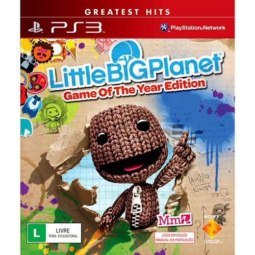 Little Big Planet - PS3 Seminovo