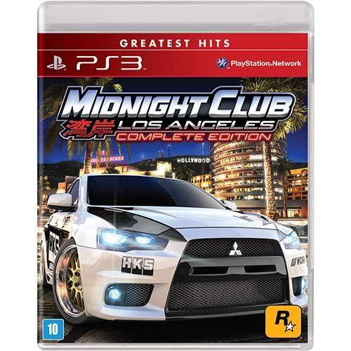 Midnight Club Los Angeles: Complete Edition - Ps3 Seminovo
