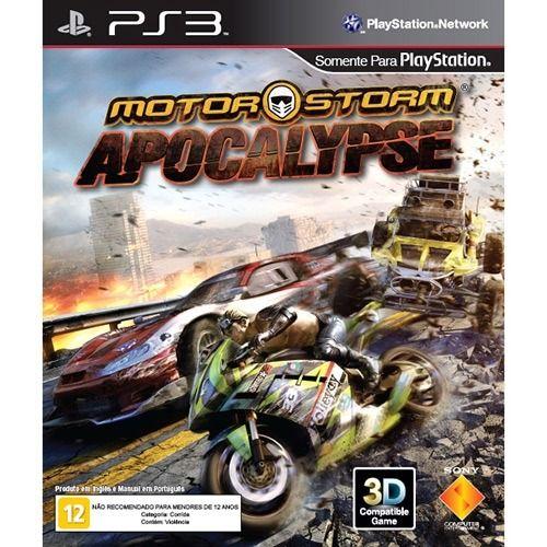 Motorstorm Apocalypse - PS3 Seminovo