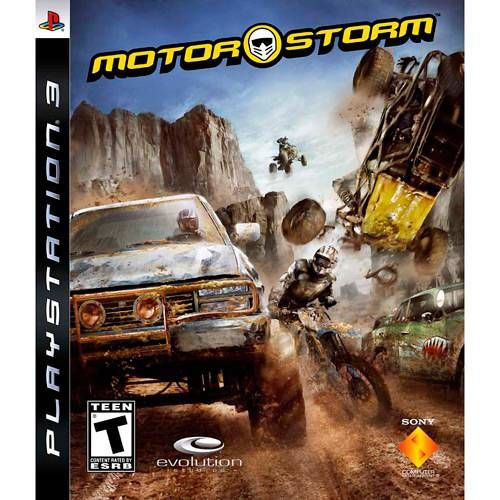 Motor Storm - PS3 Seminovo