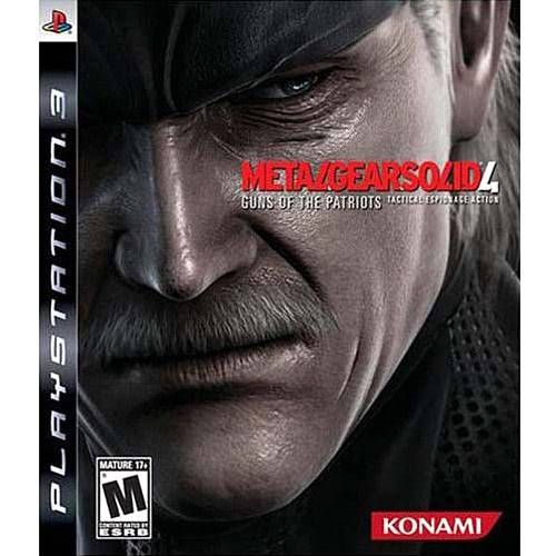 Metal Gear Solid 4 - PS3 Seminovo