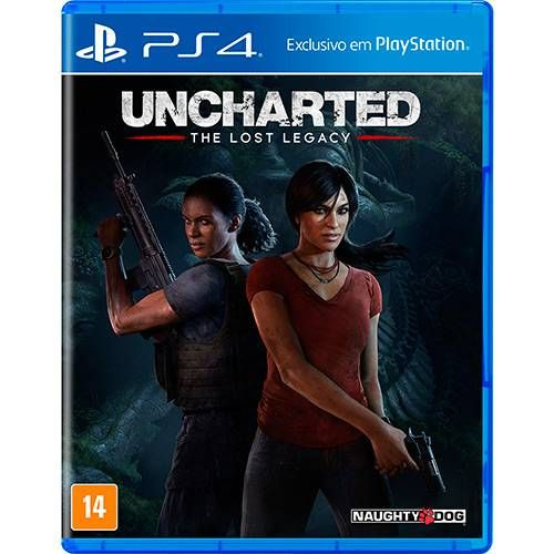 Uncharted The Lost Legacy - PS4 Seminovo