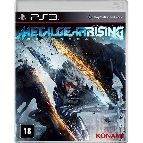 Metal Gear Rising - PS3 Seminovo