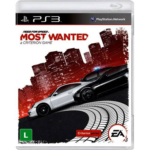 Need For Speed: Most Wanted - PS3 Seminovo