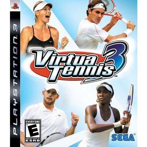 Virtua Tennis 3 - PS3 Seminovo