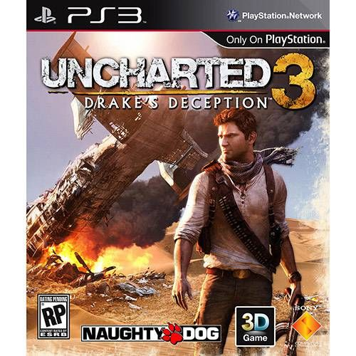 Uncharted 3: Drake's Deception PS3 Seminovo