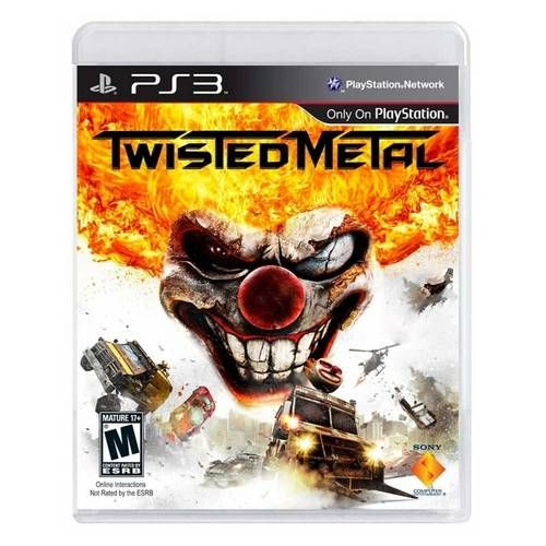 Twisted Metal - PS3 Seminovo