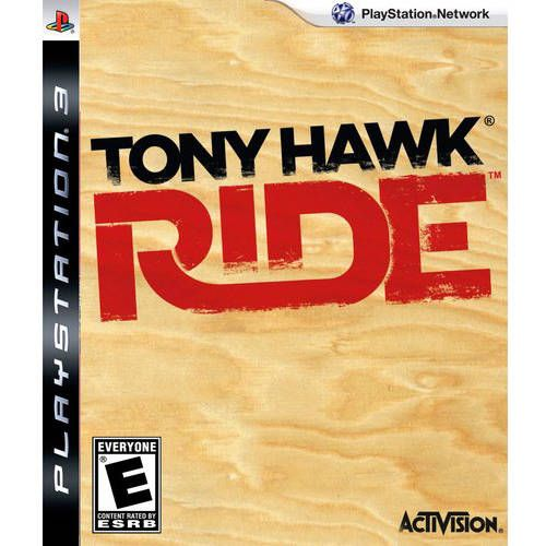Tony Hawk Ride - PS3 Seminovo