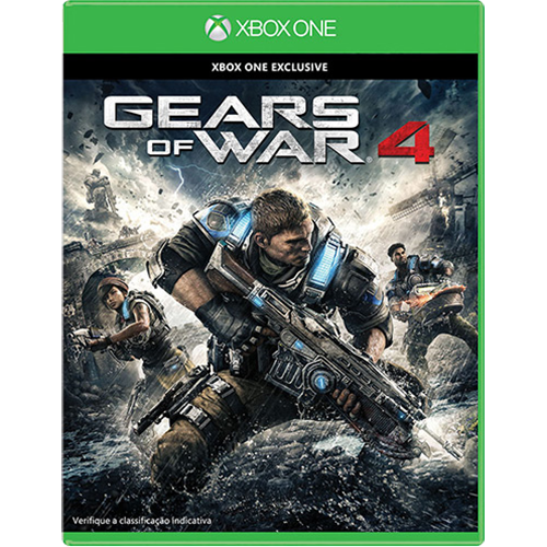 Gears Of War 4 - Xbox One Seminovo