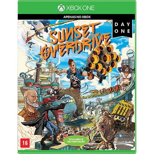 Sunset Overdrive - Xbox One Seminovo