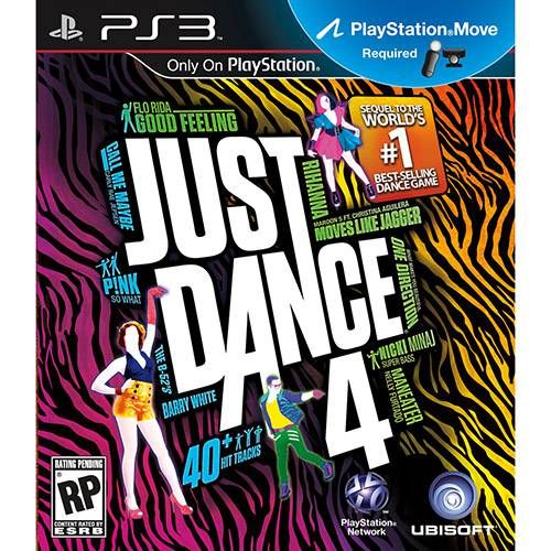 Just Dance 4 - PS3 Semi novo