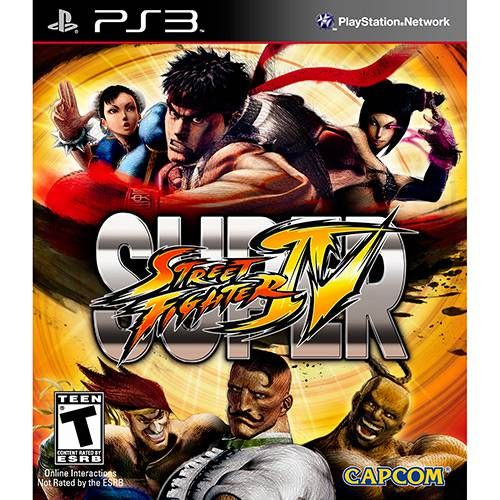 Super Street Fighter IV - PS3 Seminovo
