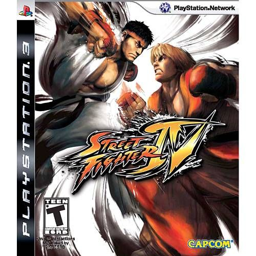 Street Fighter IV - PS3 Seminovo