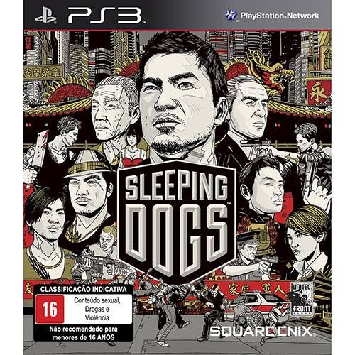 Sleeping Dogs - PS3 Seminovo
