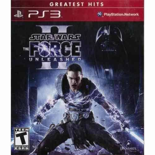Star Wars The Force Unleashed 2 - PS3 Seminovo