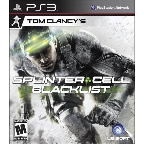 Tom Clancy´S Splinter Cell Blacklist - Ps3 Seminovo
