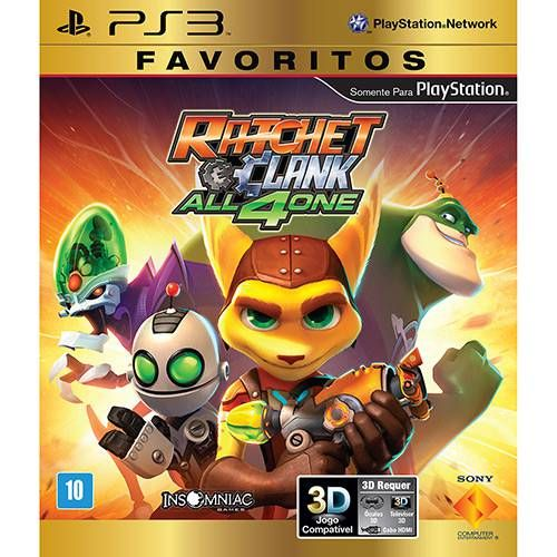 Ratchet and Clank: All 4 One - PS3 Seminovo