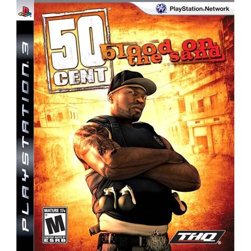 50 Cent - Blood on the Sand - PS3 Seminovo