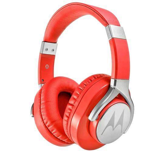Motorola Pulse Max Com Microfone Vermelho - PS4 - XBOX ONE