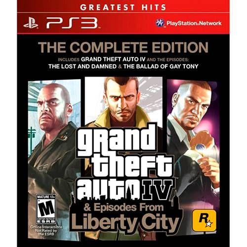 GTA IV Complete Edition - PS3 Seminovo