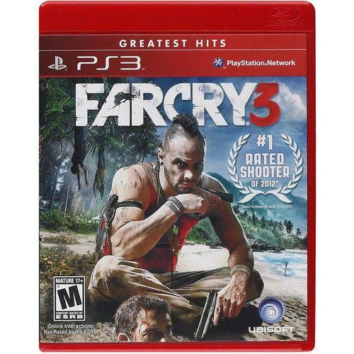Farcry 3 - PS3 Seminovo