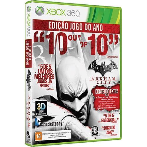 Batman: Arkham City - Edição Jogo do Ano - Xbox 360 Seminovo