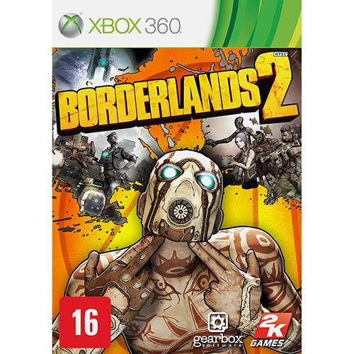 Borderlands 2 - XBOX 360 Seminovo