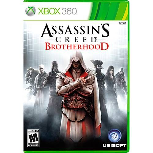 Assassin's Creed Brotherhood - Xbox 360 Seminovo