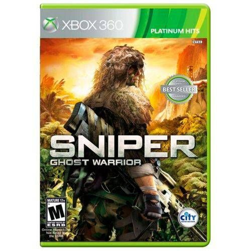 Sniper Ghost Warrior - Xbox 360 Seminovo
