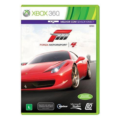 Forza Motorsport 4 - Xbox 360 Seminovo