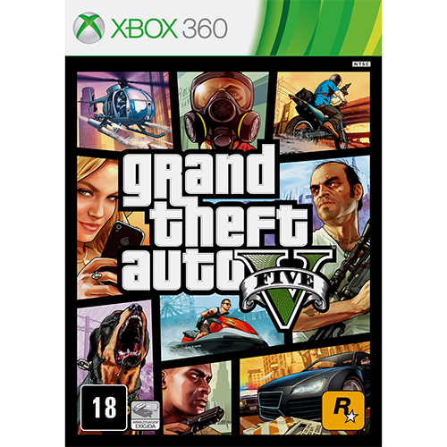 Grand Theft Auto V (Gta) - Xbox 360 Seminovo