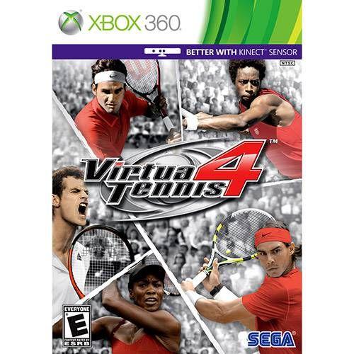 Virtua Tennis 4 - Xbox 360 Seminovo