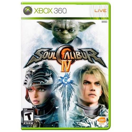 Soul Calibur Iv - Xbox 360 Seminovo
