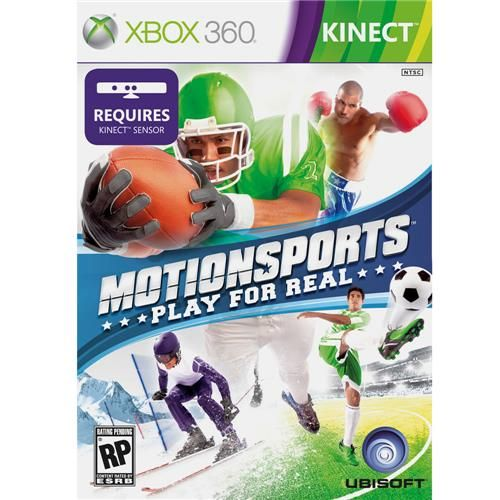 Motionsports Play for Real - Xbox 360 Seminovo