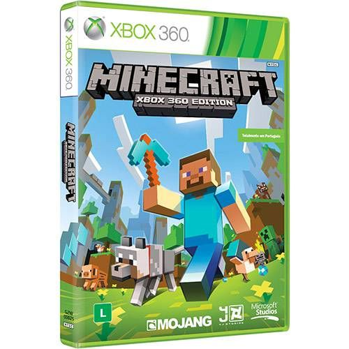 Minecraft - Xbox 360 Seminovo
