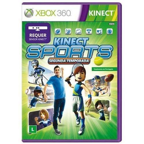 Kinect Sports: Segunda Temporada - Xbox 360 Seminovo