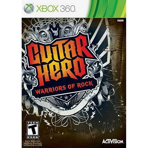 Guitar Hero: Warriors of Rock - X360 Seminovo