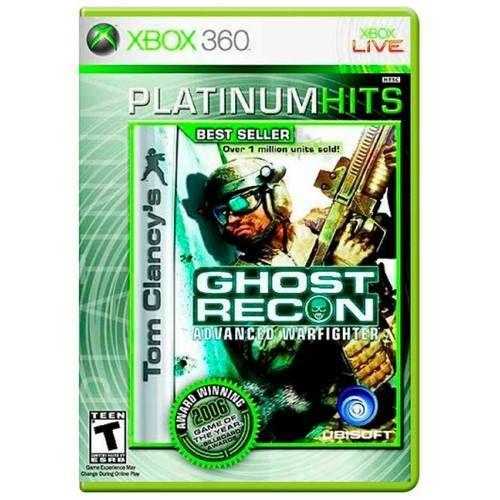 om Clancys Ghost Recon Advanced Warfighter - Xbox 360 Seminovo