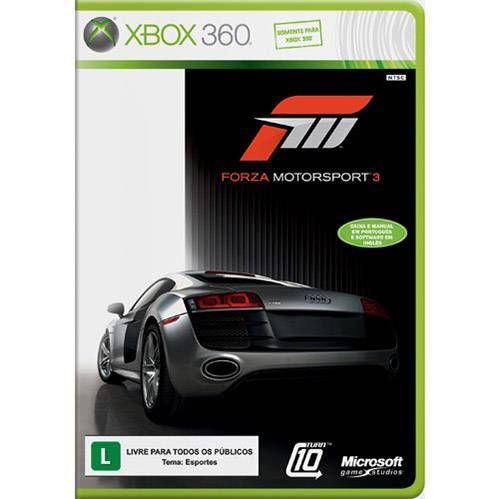 Forza Motorsport 3 - Xbox 360 Seminovo