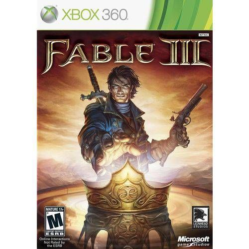 Fable 3 - XBOX 360 Seminovo