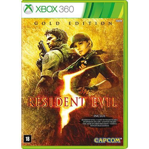 Resident Evil 5: Gold Edition - XBOX 360 Seminovo