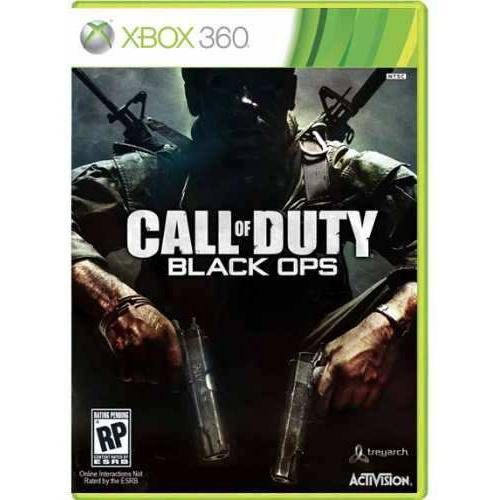Call Of Duty: Black Ops - Xbox 360 Seminovo