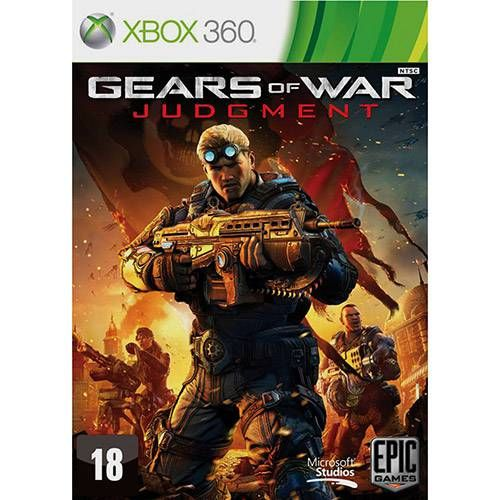 Gears Of War: Judgment - Xbox 360 Seminovo