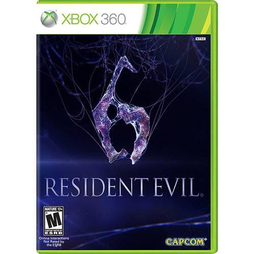 Resident Evil 6 - Xbox 360 Seminovo