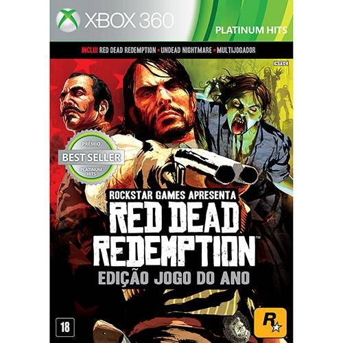 Red Dead Redemption: Game of the Year - Xbox 360 Seminovo
