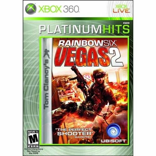Tom Clancy´S Rainbow Six Vegas 2 - Xbox 360 Seminovo
