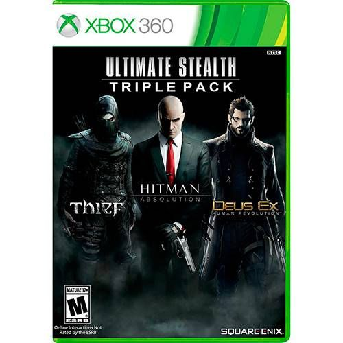 Ultimate Stealth Triple Pack - XBOX 360 Seminovo