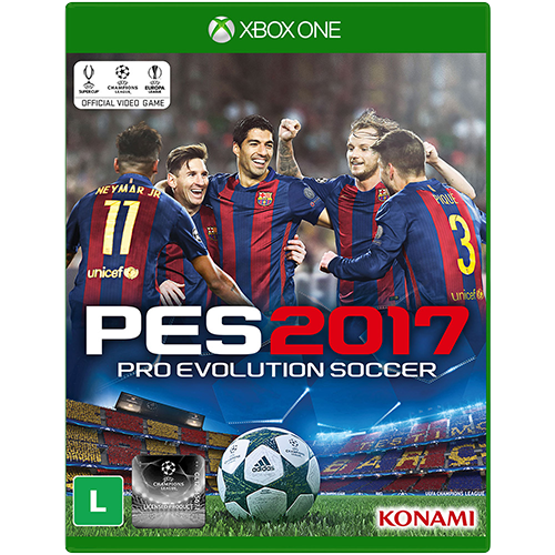 Pro Evolution Soccer 2017 - Xbox One Seminovo