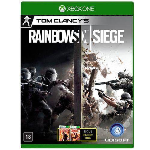 Rainbown Six Siege - Xbox One Seminovo