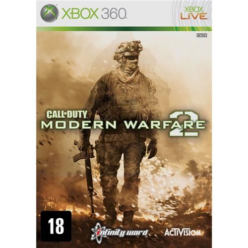 Call of Duty: Modern Warfare 2 - Xbox 360 Seminovo